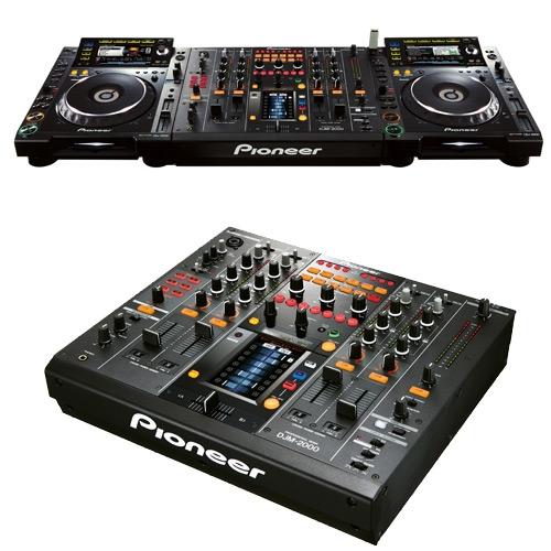 location Régie PIONEER DJM 2000 +  CDJ 2000 à Le-fayet 74190